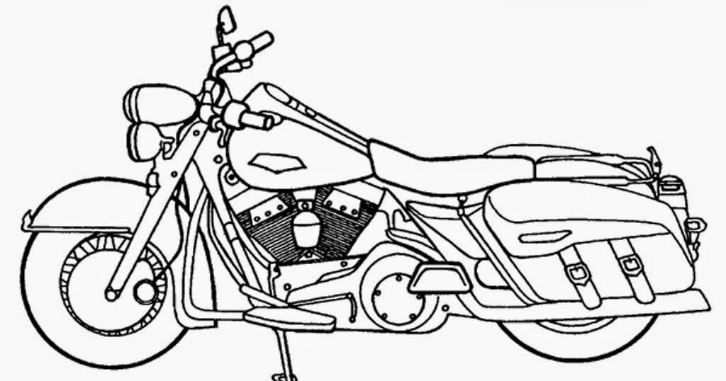 Sketsa Motor Drag Vega Sempoa Dunia