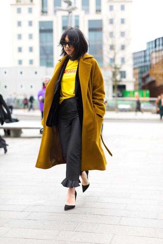 Harper's Bazaar LFW Street Style - Margaret Zhang