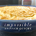 Impossible Spinach Quiche for #FoodnFlix