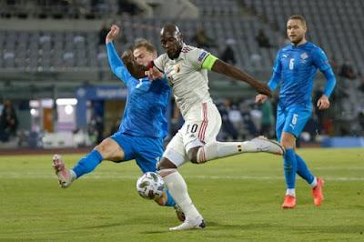 ملخص واهداف مباراة بلجيكا وايسلندا (2-1) دوري الامم الاوروبية