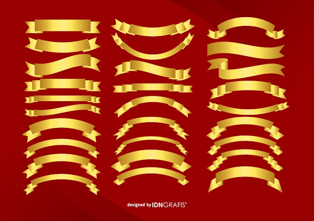 gold-ribbon-vector