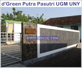 green kost ugm dan uny