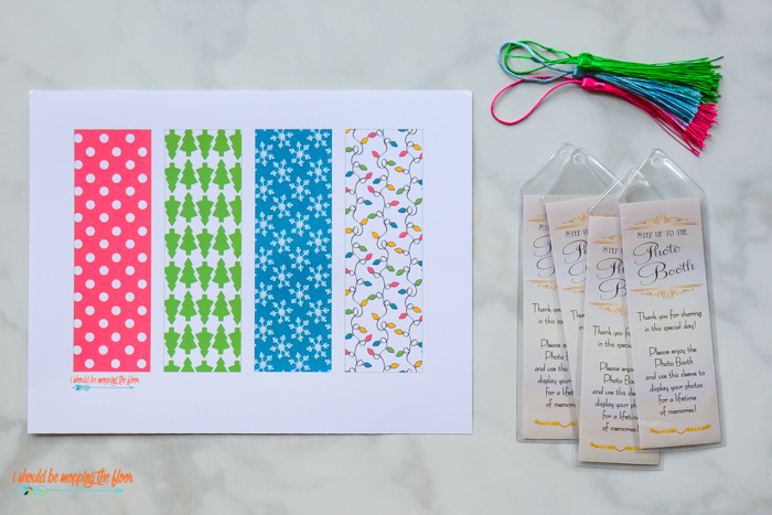 Holiday Bookmark Printables