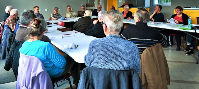 Meeting of the Association de botanique et de mycologie de Sainte Maure de Touraine.  Indre et Loire, France. Photographed by Susan Walter. Tour the Loire Valley with a classic car and a private guide.