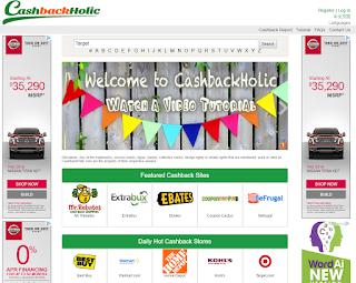 cashbackholic Shopping Portal