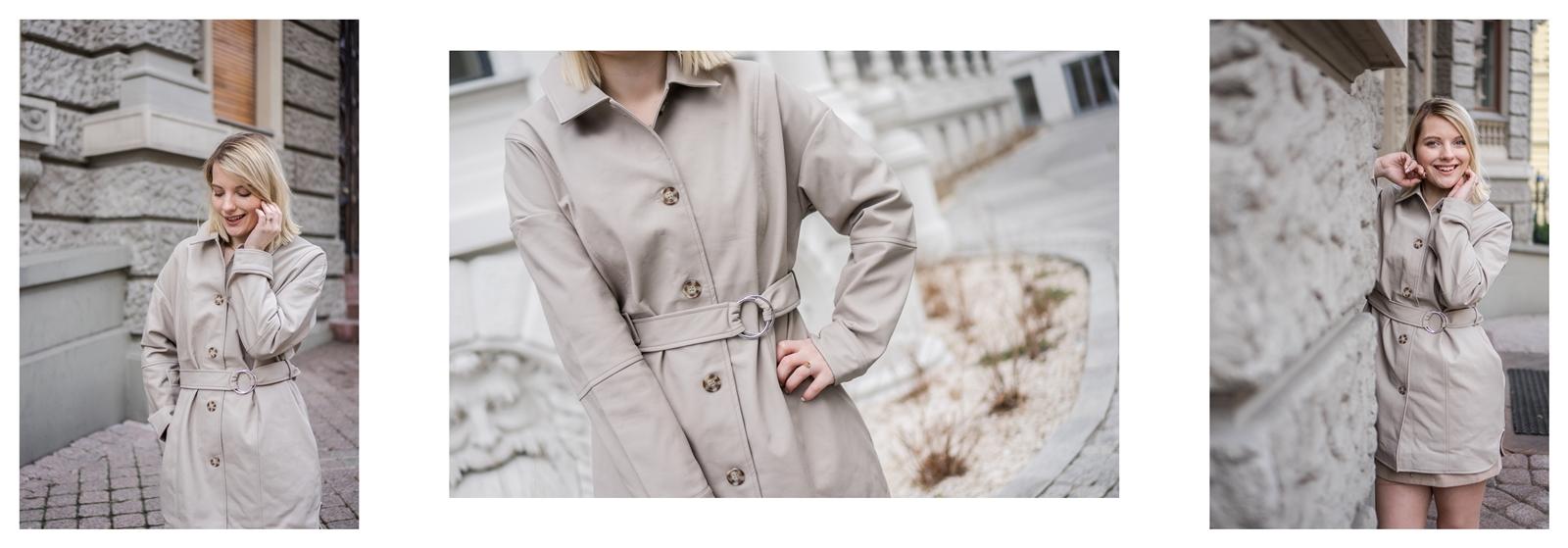 3a na-kd na kd lounge kod zniżkowy outlet rabat zakupy płaszcz na jesień kremowy sukienka modne stylizacje total look blog łódź fashion lifestyle