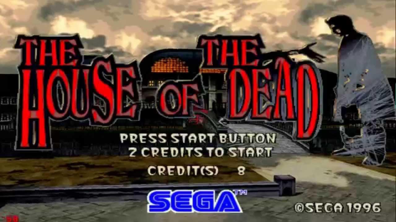 تحميل لعبة الرعب القديمة بيت الرعب الجزء الأول - The House of The Dead 1