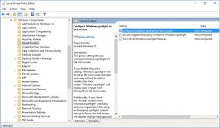 Sửa lỗi Windows Spotlight không hoạt động tại màn hình khóa Windows 10