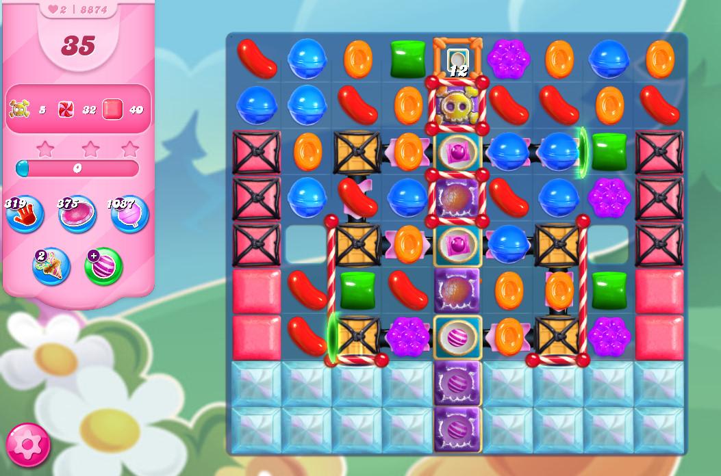 Candy Crush Saga level 8874