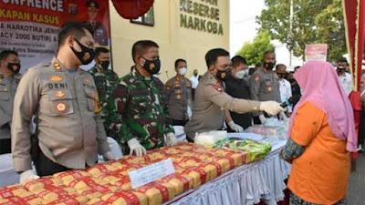 Satresnarkoba Polres Labuhanbatu Ungkap Peredaran 60 Kg Sabu dan 2.000 Butir Ekstasi