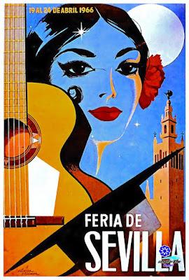 Cartel Feria de Sevilla 1966 - José Álvarez Gámez