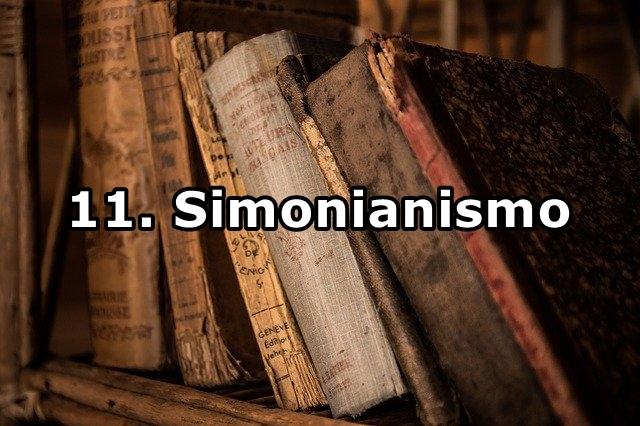 11. Simonianismo