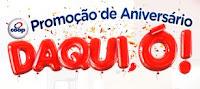 Promoção de Aniversário Coop Daqui, ó! aniversariodacoop.com.br