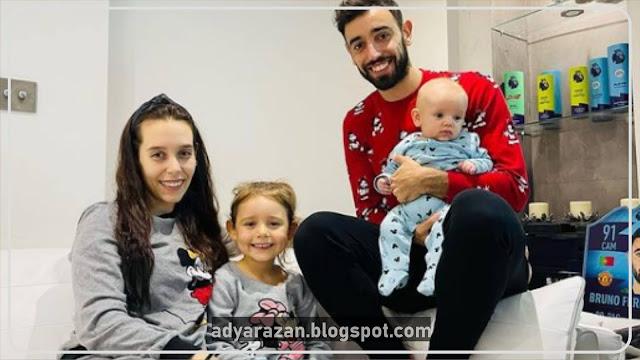 Bruno Fernandes dan Keluarga
