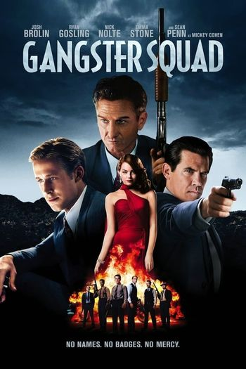 Gangster Squad (2013) Hindi BluRay 720p & 480p Dual Audio [Hindi & English] HD | Full Movie