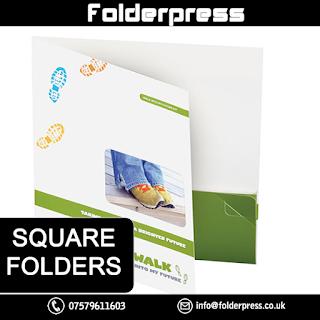Square Folders printing