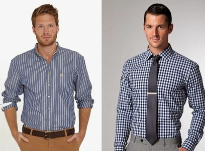 Trend fashion style gaya busana pria 2015 - Motif garis dan kotak