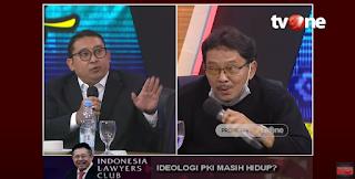 Skak Mat! Didepan Anak Gembong PKI, Fadli Zon Bongkar Sejarah Kelam Pengkhianatan PKI