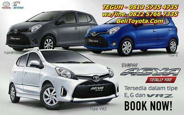 Gambar Brosur Toyota Agya Facelift 2017