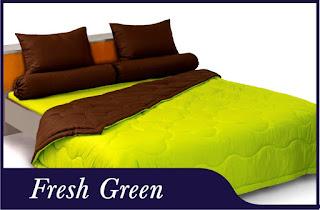 Sprei & Bedcover Shyra Polos - Fresh Green