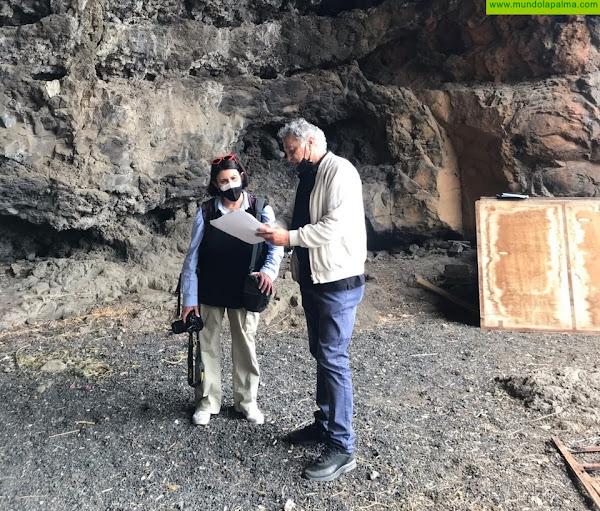 El Ayuntamiento ultima con el Cabildo un estudio en la Cueva de Carías antes de acondicionarla como espacio museístico