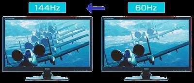 تردد الشاشة refresh rate