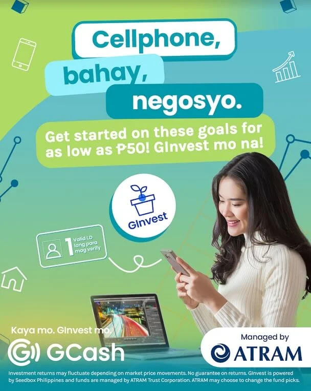 GCash GInvest Allows You to Invest in Local and International Businesses for as Little as Php50!