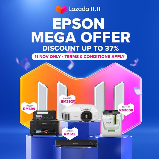 Epson 11.11 Mega Offers On Lazada