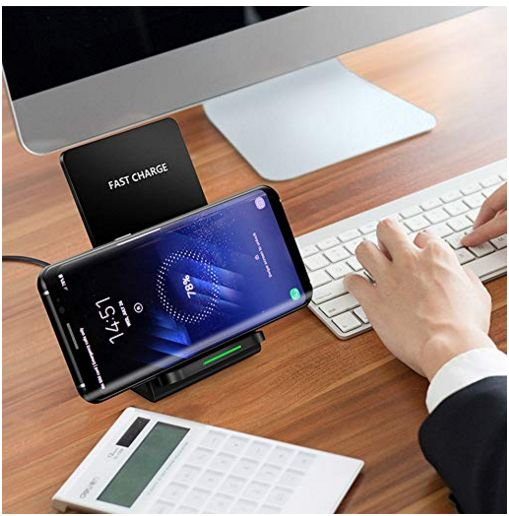Fast Wireless Charger Stand for Iphone