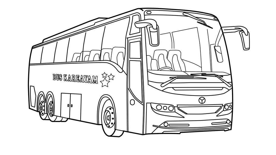 радиоприемников картинки автобусов для раскраски образом