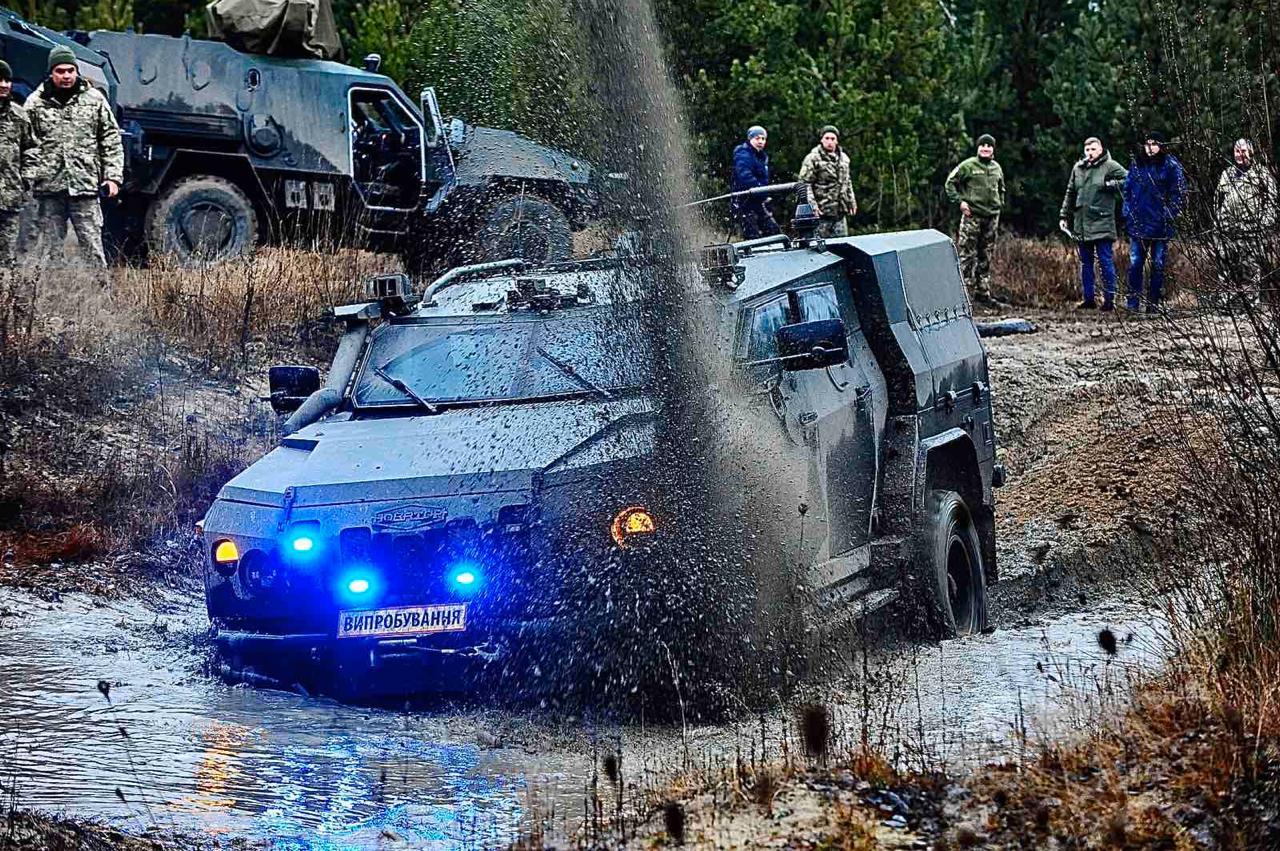 Сухопутні війська отримають понад 40 бронеавтомобілей Новатор