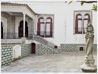 Pátio Central; Palácio Nacional de Sintra; Portugal; sem guia; Europa;