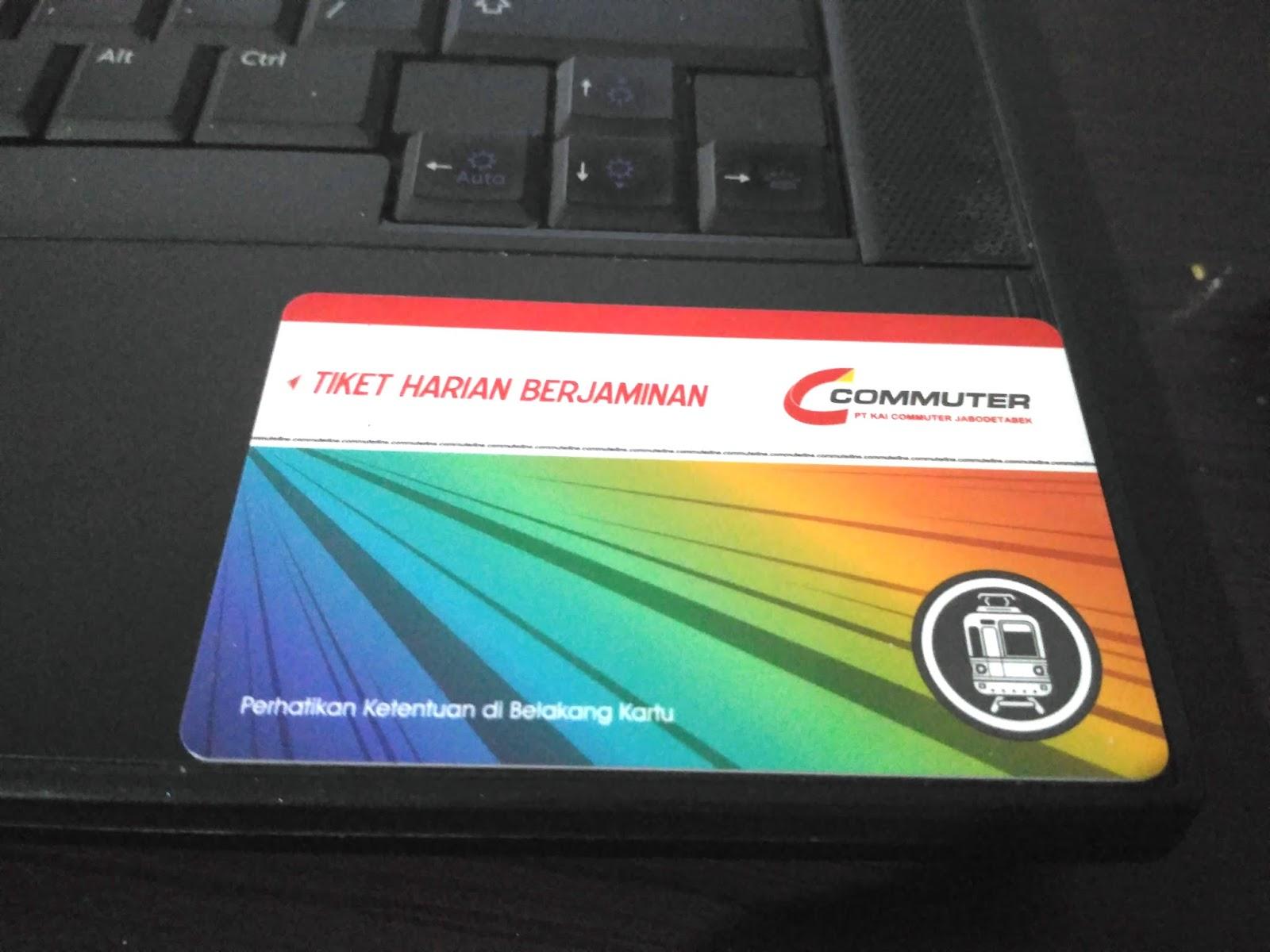 cara beli tiket KRL commuter