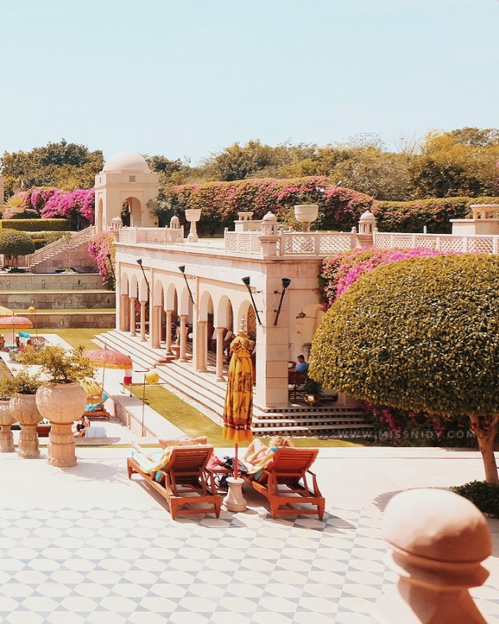 the oberoi amarvillas india