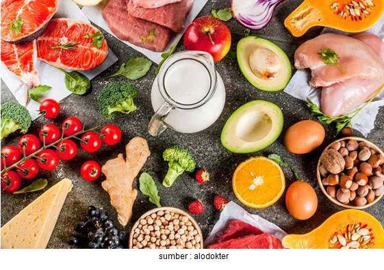 makanan bergizi dan seimbang