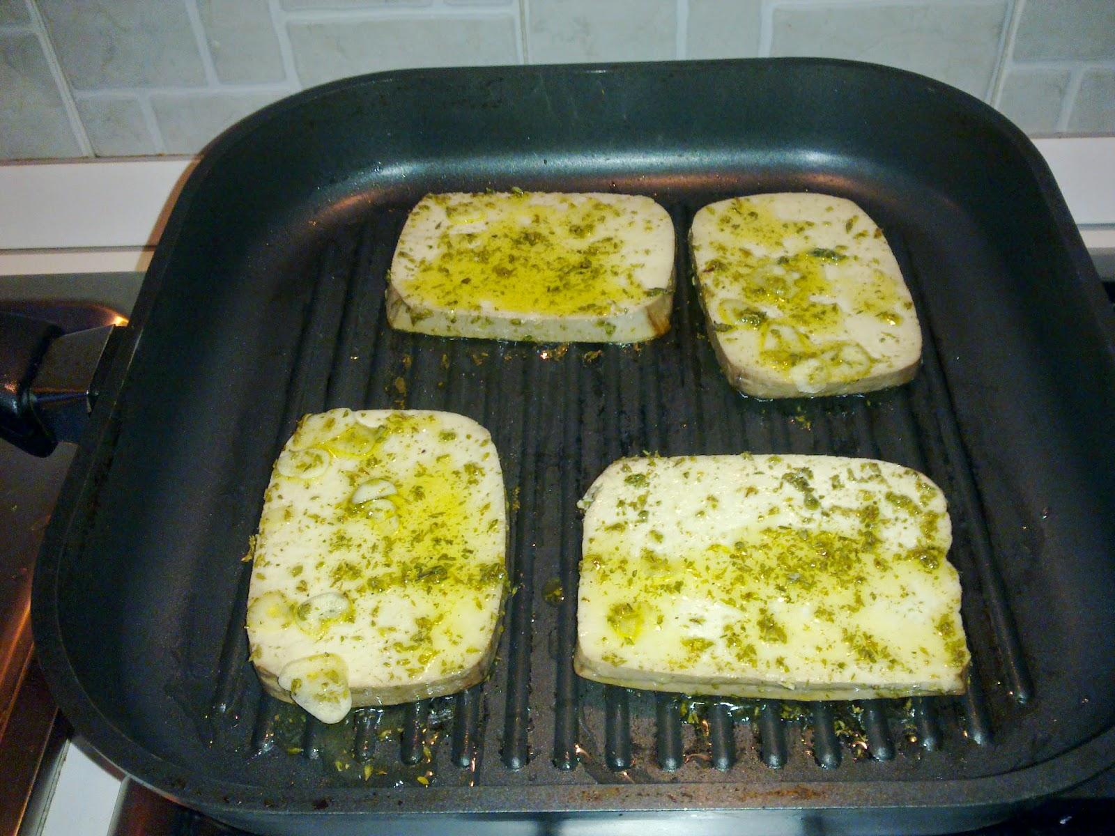 Popolare La mia vita Green: Super Panino con Tofu Affumicato alla griglia ZP52