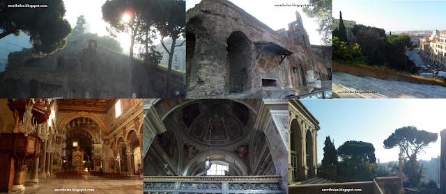 Viaje a Roma: ínsula, iglesia y panorámica