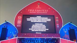 Эвакуация болельщиков с FIFA Fan Fest Nizhny Novgorod (часть 1)