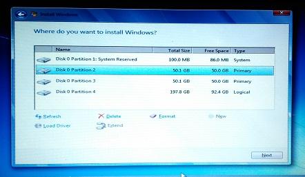 Cara mempartisi hardisk untuk OS dan penyimpanan
