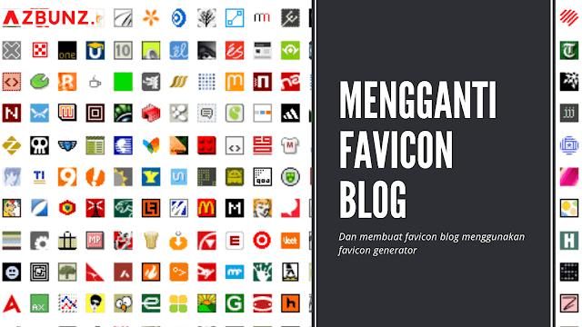 Mengganti Favicon di Blogger
