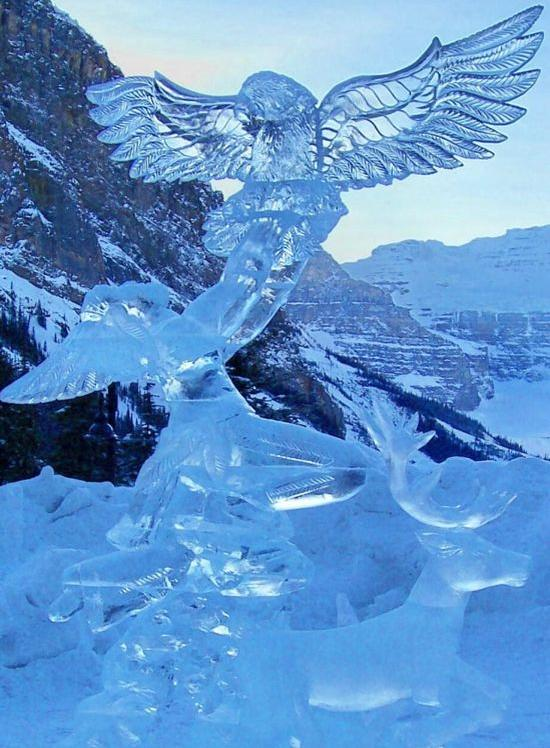 amazing ice sculpture wallpapers - photo #24