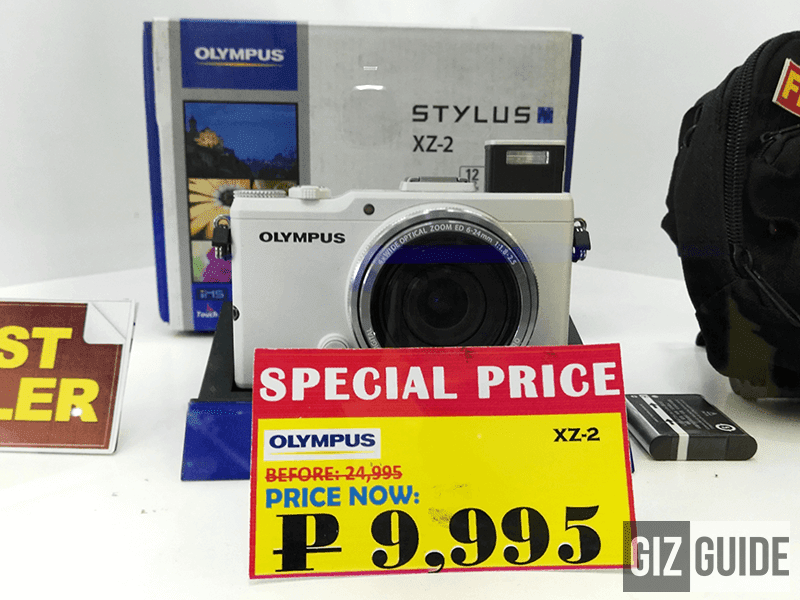 Spotted! Olympus XZ-2 Mirrorless Cam On Sale