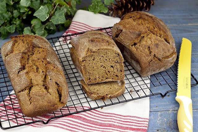 chleb zytni, chleb domowy,