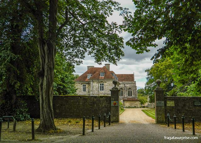 Residência dos bispos de Winchester