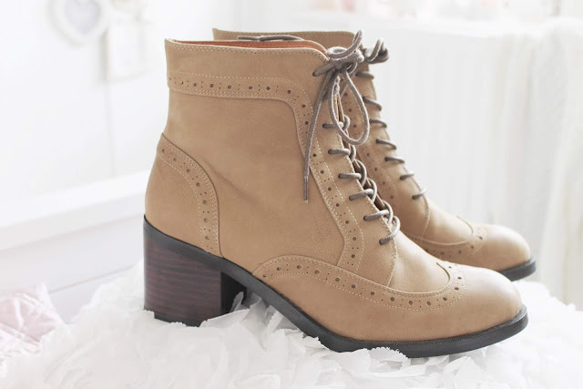 Blog fashion haul, Vintage girl boots