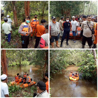 Remaja 14 Tahun Tenggelam Di Sungai Merbang, Timpuk