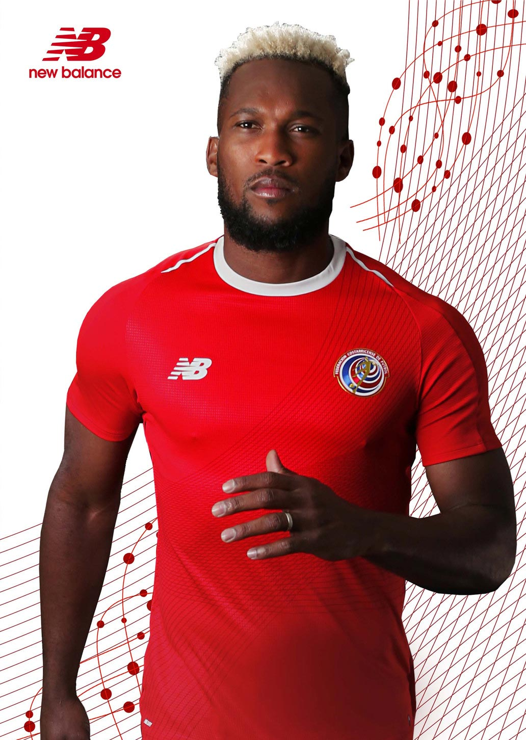 costa rica 2018 world cup home away kits released
