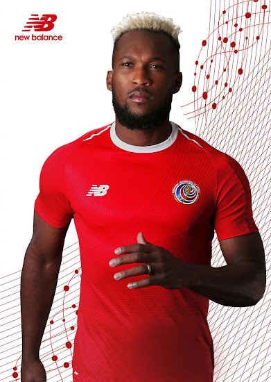Costa Rica 2018 World Cup Home   Away Kits Released - Footy ... d7b41e6d3