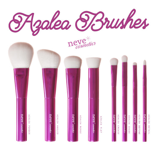 Nuovi Azalea Brushes - Neve Cosmetics