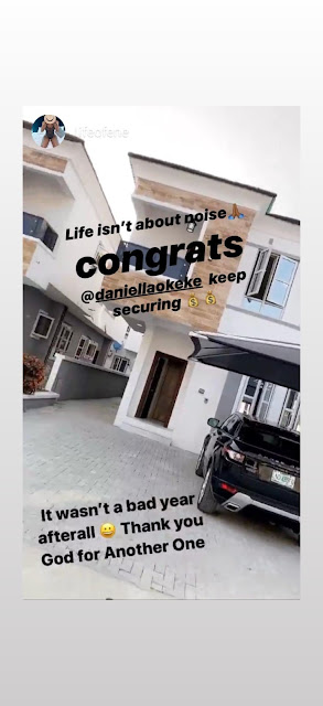 'It Wasn't A Bad Year After All' - Curvy Actress, Daniella Okeke Acquires A New House